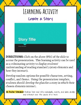 Learning Activity: Create a Story