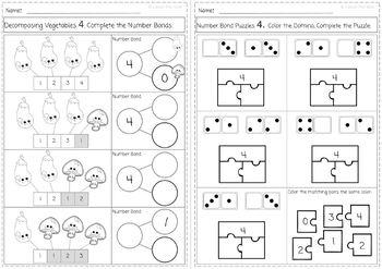 Learning Addition,Subtraction & Number Bonds K.OA BUNDLE