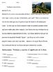 Machu Picchu FUN Spanish Activity Packet : A Peru Culture Country Study