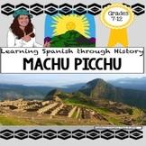 Machu Picchu FUN Spanish Activity Packet : A Peru Culture