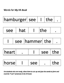 Learning All About the Letter H!