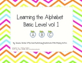 Learning Alphabet Basic Vol 1 Autism/ABA/Special Needs