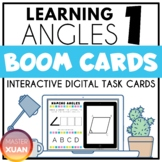 Learning Angles 1 Boom Cards Distance Learning