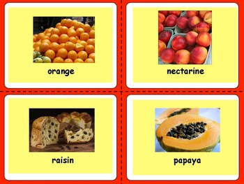 Learning Animals and Fruits!