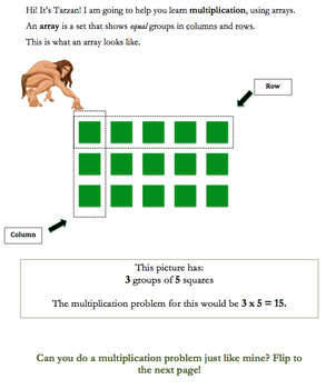 Learning Arrays with Tarzan!