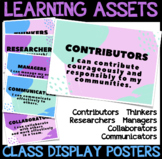 Learning Assets Display Posters *for INQUIRY LEARNING*