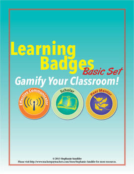 Learning Badges (Basic Set) -- Gamify Your Classroom!
