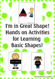 Learning Basic Shapes Activities and Games