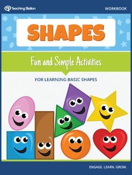 Learning Basic Shapes Workbook {COLOR}