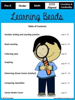 Learning Beads (Counting & Cardinality)