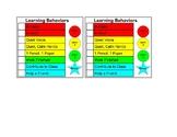 Learning Behaviors Checklist