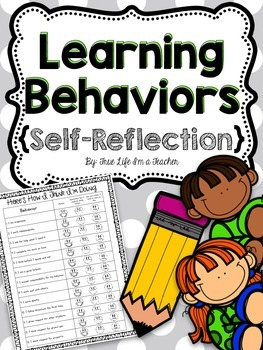 Learning Behaviors Self-Reflection