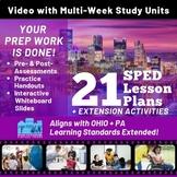 Virtual Field Trip to Pittsburgh:SPED Multi-Week & Multi-S