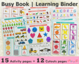 Learning Binder | Busy Book | Learning Folder for Toddlers
