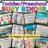 Learning Binder for Toddler and Preschool - Quiet Book / B