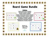 Learning Board Game Bundle {Math, ELA, & Holiday Templates!}