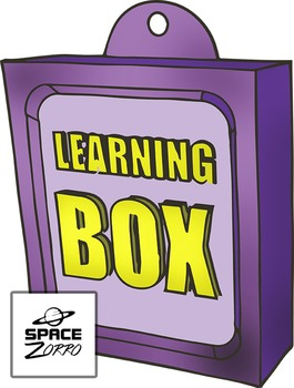 Learning Box image / clipart
