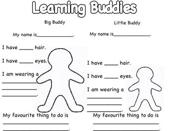 Learning Buddies Activity
