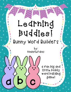 Learning Buddies: Bunny Word Building