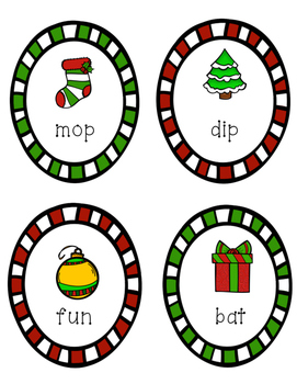Learning Buddies: Christmas Literacy Activity