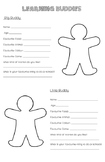Learning Buddies - Getting to Know You Poster
