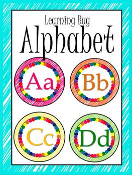 Learning Bug Theme Alphabet