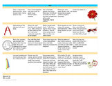 Learning Calendar Printable - May