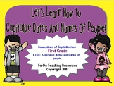 Learning Capitalization Rules For First Grade