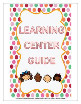 Learning Center Guide