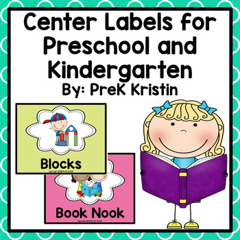 Learning Center Labels