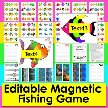 Learning Center- Magnetic Fishing Game MultiPurpose
