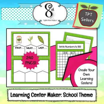Learning Center Maker School Themed