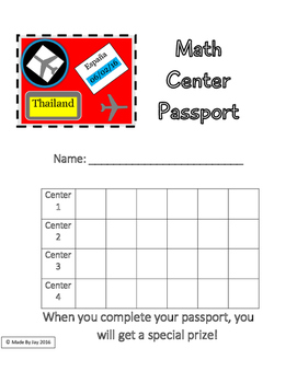 Passport For Reading And Math Worksheets & Teaching ...