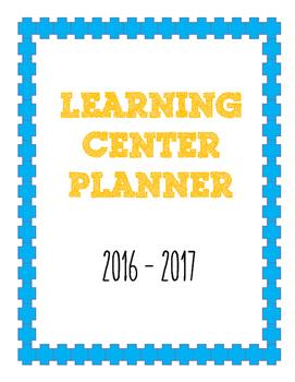 Learning Center Planner