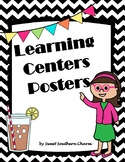 Learning Center Posters Classroom Decorations by Sweet Sou