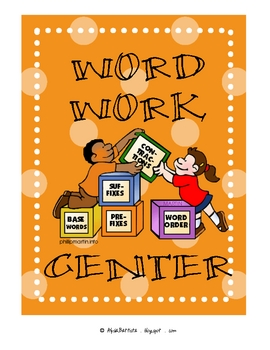 Learning Center Signs for Elementary School