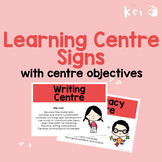 FULL Learning Centre Signs with centre objectives (UK English)