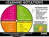 Learning Centers Management System | For Google Slides