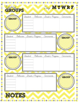 Learning Centers Printable Resource Kit for Teachers