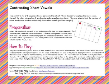 Learning Centers for Medial Vowels, Visualization, Initial /l/ Blends Unit 1-3