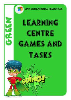 Learning Centre Games: Green