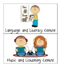 Learning Centre Signs