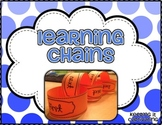Learning Chains {3-D Graphic Organizers}