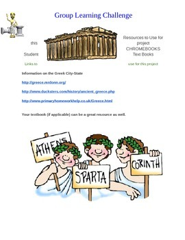Learning Challenge: Birth of Greek Civilization