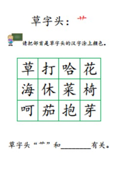 Learning Chinese Radical