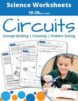 Learning Circuits Worksheet Bundle