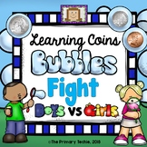 Learning Coins Bubble Fight