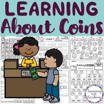 Money Practice | US Coins | Penny, Nickel, Dime, Quarter