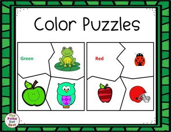 Learning Color Puzzles