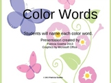 Color Words Powerpoint